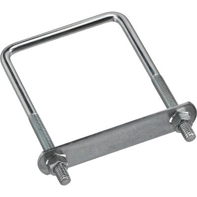 National 3/8 In. x 3-5/8 In. x 6 In. Zinc Square U Bolt