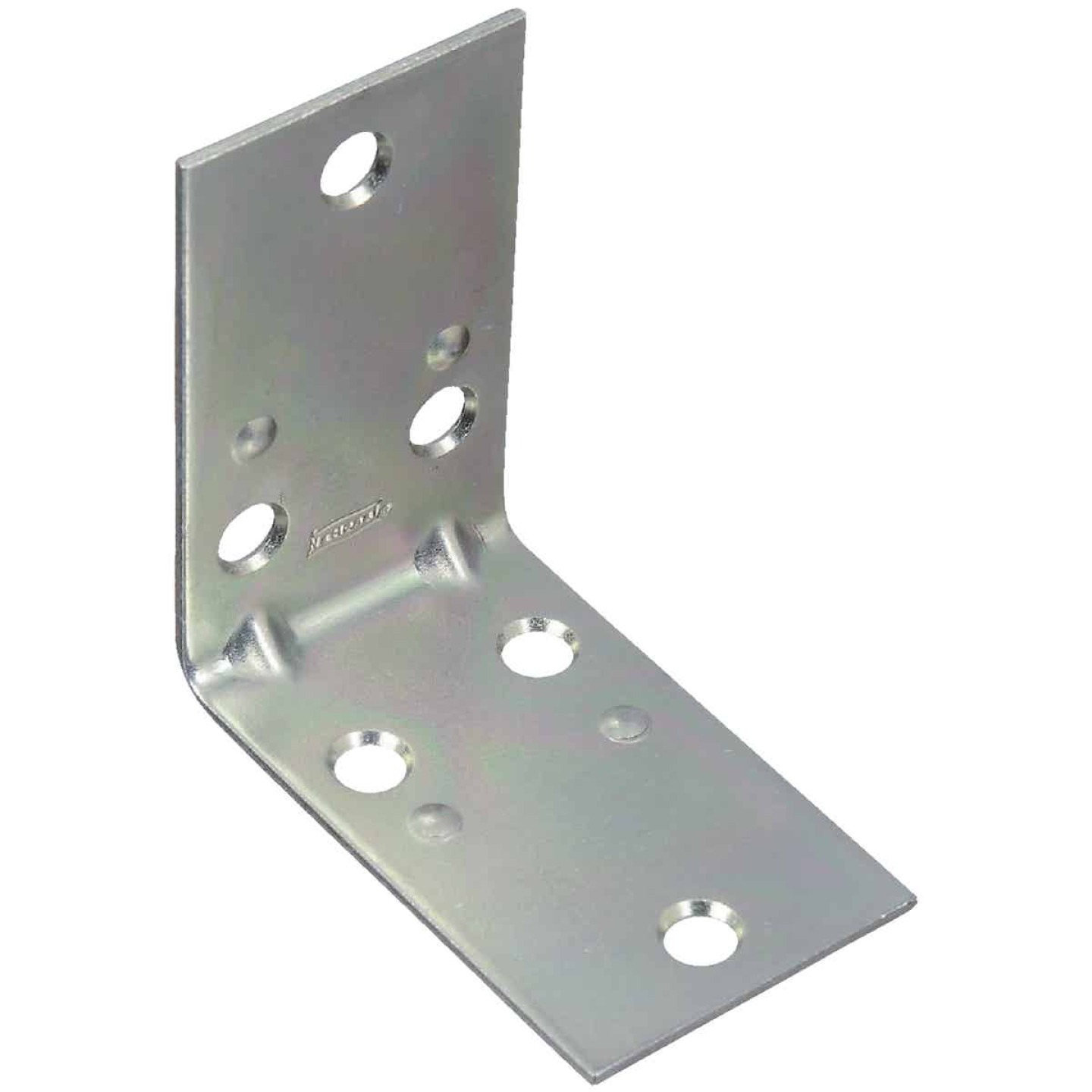 National Catalog V121 2-1/2 In. x 1-1/2 In. Double Wide Zinc Corner Brace Image 1