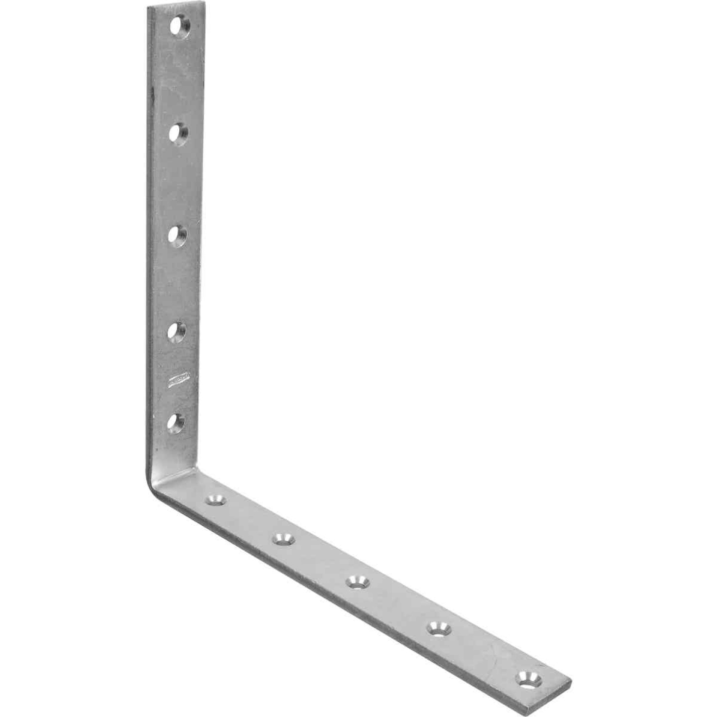 National Catalog 115 10 In. x 1/4 In. Zinc Corner Brace Image 1