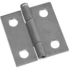 National 1-1/2 In. Zinc Loose-Pin Narrow Hinge (2-Pack) Image 1