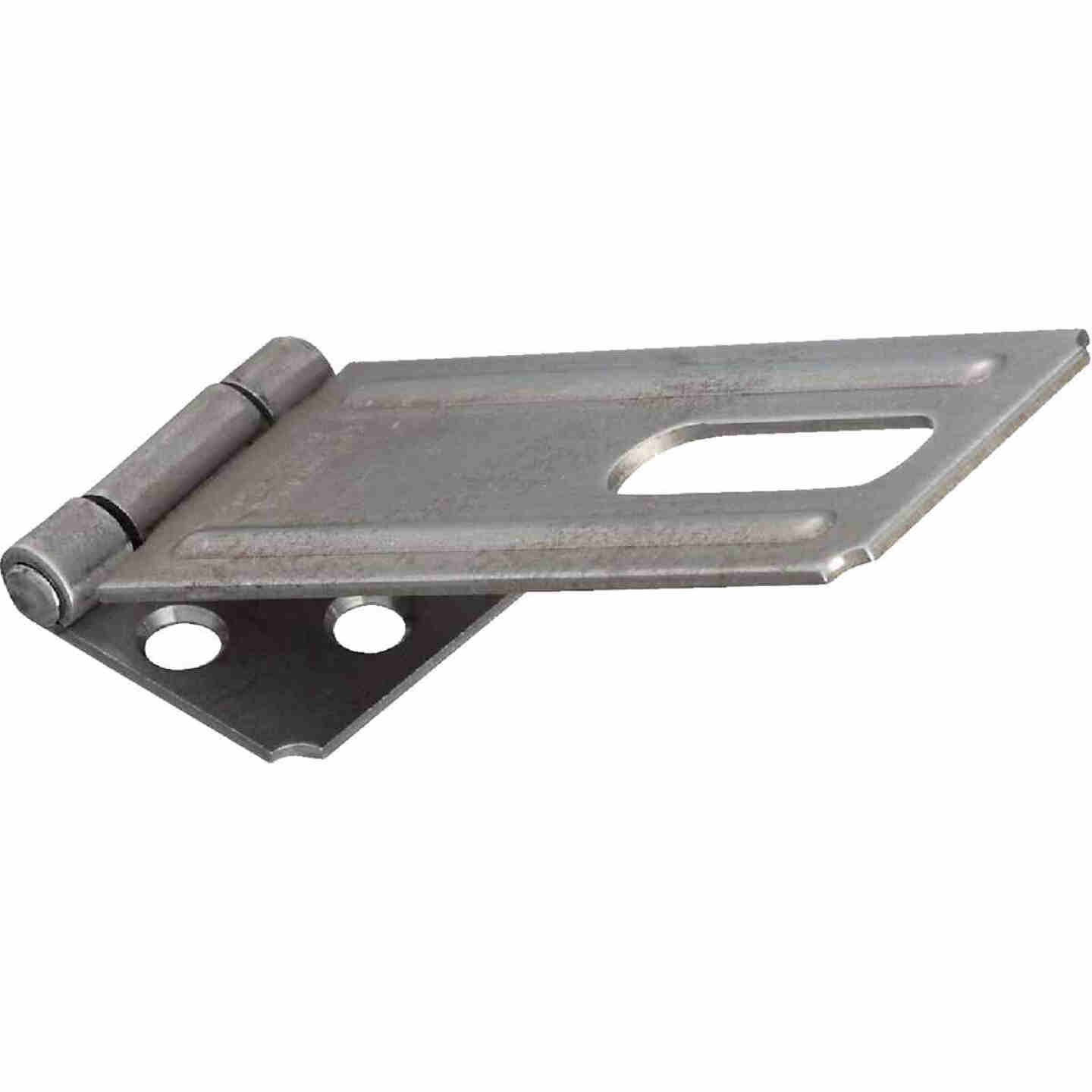 National 4-1/2 In. Galvanized Non-Swivel Safety Hasp Image 1