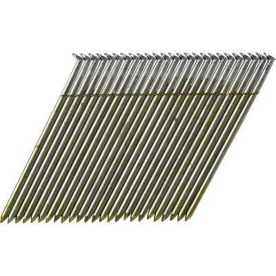 Bostitch 28 Degree Wire Weld Coated Offset Round Head Framing Stick Nail, 3-1/4 In. x .120 In. (2000 Ct.)