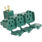 Do it Green 15A 3-Outlet Wall Hugger Tap Image 1