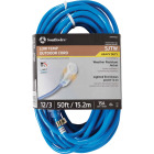 Coleman Cable ColdFlex 50 Ft. 12/3 Cold Weather Extension Cord Image 1
