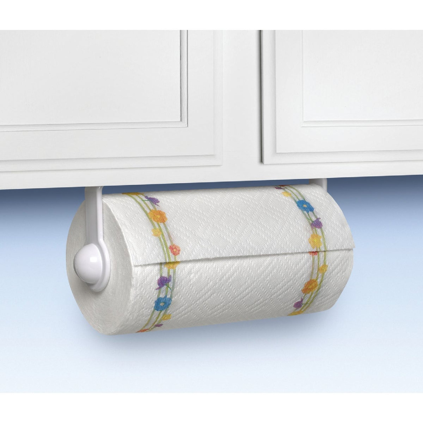 Spectrum Plastic Paper Towel Holder Image 1