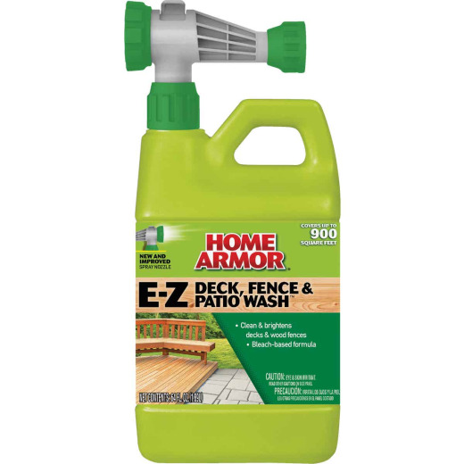 Home Armor 64 Oz. Hose-End E-Z Deck, Fence & Patio Wash