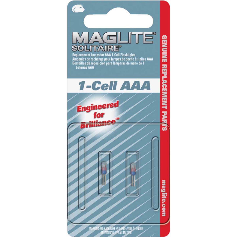 Maglite Solitaire Xenon 1.2V Flashlight Bulb (2-Pack) Image 1